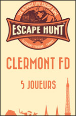 ESCAPE GAME CLERMONT FD-5 PERSONNES