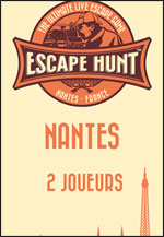 ESCAPE GAME NANTES - 2 PERSONNES