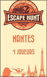 ESCAPE GAME NANTES - 4 PERSONNES