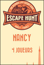 LIVE ESCAPE GAME NANCY- 4 PERSONNES