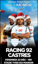 RACING 92 / CASTRES OLYMPIQUE