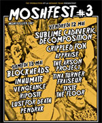 MOSHFEST - PASS 2 JOURS