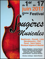 FESTIVAL FOUGERES MUSICALES   2017