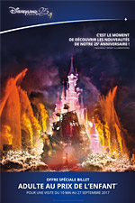 OFFRE DISNEY 1 J-1 PARC SUPER MAGIC