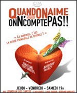 QUAND ON AIME , ON N'COMPTE PAS !