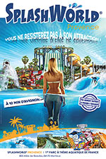 SPLASHWORLD PROVENCE-BILLET 1 JOUR