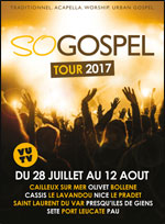 SO GOSPEL TOUR 2017  ST LAURENT VAR
