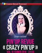 "CABARET PIN'UP REVUE ""CRAZY PIN'UP"""