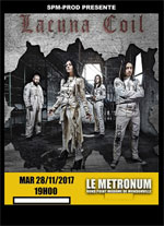 LACUNA COIL + CELLAR DARLING