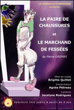 PAIRE 2 CHAUSSURES/MARCHAND FESSEES