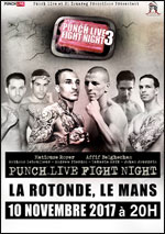 PUNCH LIVE FIGHT NIGHT 3