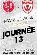 STADE DE REIMS / AS NANCY LORRAINE