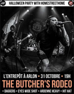 THE BUTCHER'S RODEO (FR) + DAGGERS