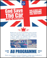 GOD SAVE THE CAR AND MOTORCYCLES