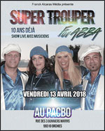 SUPER TROUPER FOR ABBA EN CONCERT