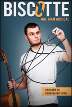 BISCOTTE DANS ONE MAN SHOW MUSICAL