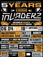 INVADERZ 5 YEARS