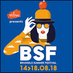 BRUSSELS SUMMER FESTIVAL 2018