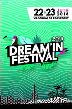 DREAM'IN FESTIVAL 2018 - SAM. 23/06