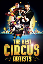 THE BEST CIRCUS ARTISTS