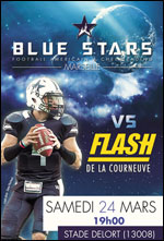 BLUE STARS MARSEILLE / LA COURNEUVE