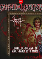 CANNIBAL CORPSE + SADISTIC INTENT