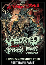 ABORTED (HELL OVER EUROPE II)
