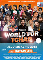 SPECTACLE CARITATIF WORLD FOR TCHAD