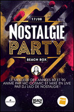 LA BEACH BOX : NOSTALGIE PARTY