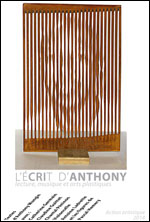 L'ECRIT D'ANTHONY