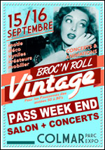 SALON BROC N ROLL VINTAGE 2018