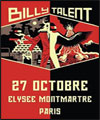 R�servation BILLY TALENT