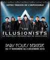 R�servation THE ILLUSIONISTS
