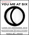 R�servation YOU ME AT SIX