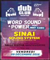 R�servation NANTES DUB CLUB #22
