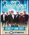 Réservation THE BEACH BOYS