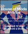 Réservation HOUSE OF MODA AIRLINES