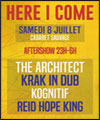 Réservation AFTERSHOW:THE ARCHITECT,KRAK IN DUB