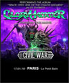 Réservation GLORYHAMMER + CIVIL WAR