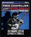 Réservation FRED CHAPELLIER PLAYS PETER GREEN