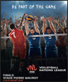 Réservation VOLLEYBALL NATIONS LEAGUE FINALS