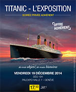 TITANIC - SOIREE PRIVATIVE