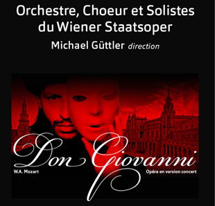 Opéra ORCHESTRE & CHOEUR WIENERSTAATSOPER MOZART DON GIOVANNI GENEVE